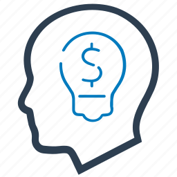 bulb, business, creative, idea icon