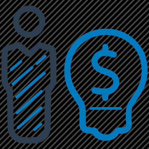 brainstorming, business idea, creativity icon