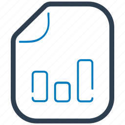 analytics, bar chart, business, report, statistics icon