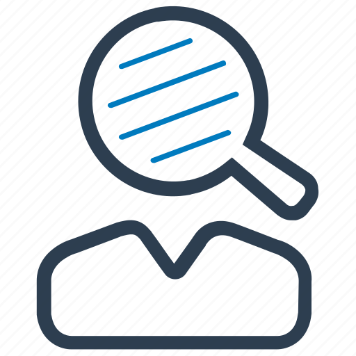 find, profile, search, user icon