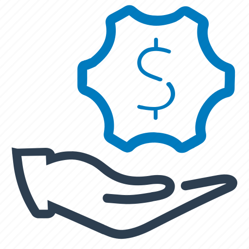 business, financial, services, support icon