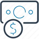cash, finance, money, profit icon