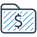 financial, folder, record, file