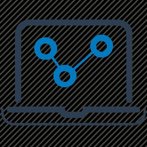 analysis, graph, marketing, sales icon