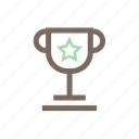 award, prize, reward, win, winning cup icon