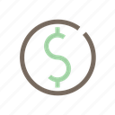 business, buy, dollar, money, shopping icon
