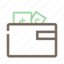 cash, coin, currency, payment, wallet icon