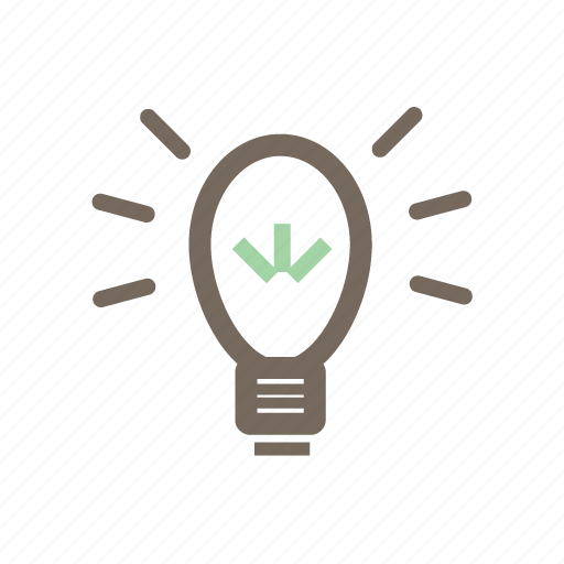 brainstorm, creativity, idea, light, lightning, power icon