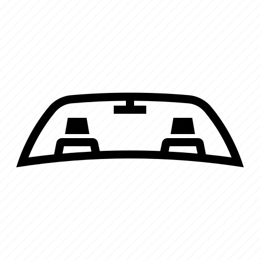 car, cover, glass, windscreen, windshield icon