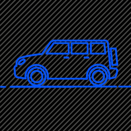 automobile, avto, car, jeep, transport, travel, vehicle icon