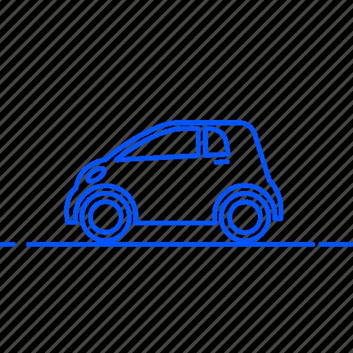 automobile, avto, car, smart, transport, travel, vehicle icon