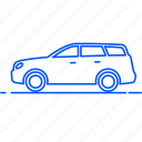 automobile, avto, car, transport, travel, vehicle, wagon car icon