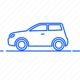 automobile, avto, car, hatchback, transport, travel, vehicle icon