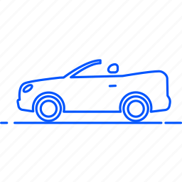 automobile, avto, cabriolet, car, transport, travel, vehicle icon