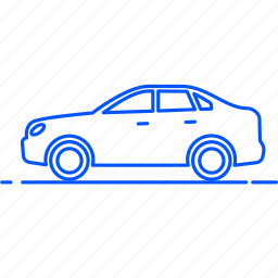 automobile, avto, car, sedan, transport, travel, vehicle icon