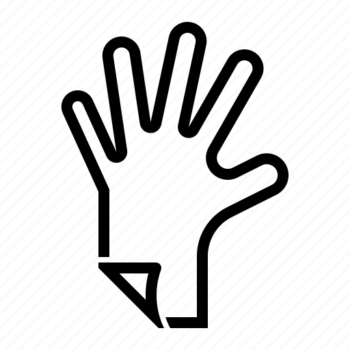 accessory, glove, hand, mitten, protect icon