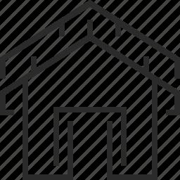 contact, home icon