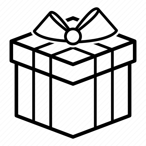 birthday, box, delivery, gift, present, shipping, xmas icon
