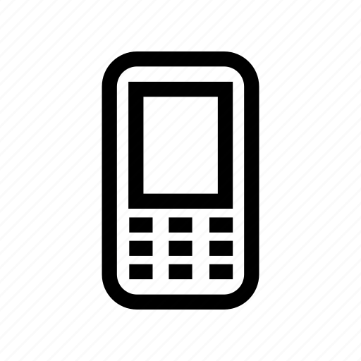cell phone, device, mobile phone, mobilephone, smartphone icon