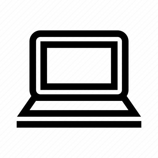 computer, device, laptop, notebook, notepad icon