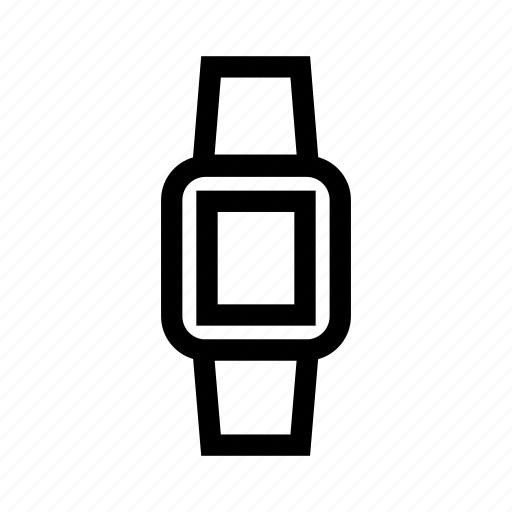 clock, device, smart watch, smartwatch, watch icon