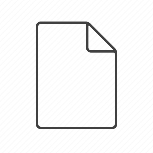 blank, deed, doc, document, paper, writing icon