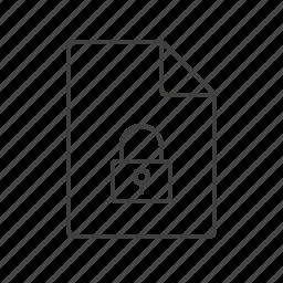 access, inaccessible, lock, locked, locker, unavailable, verification icon