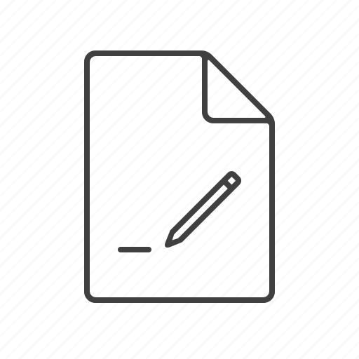 create, document, edit, new, send, sending, write icon