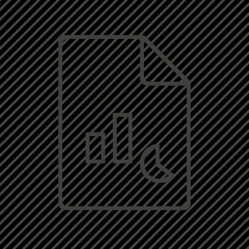 chart, diagram, graph, plan, power point, presentation, schema icon