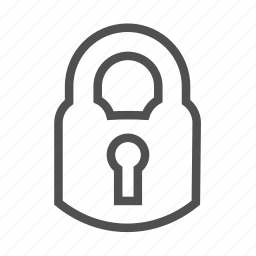 closed, hole, key, lock, locked, password, protection, safe, secure, security icon