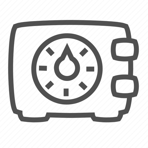 bank, closed, code, finance, financial, money, protection, safe icon