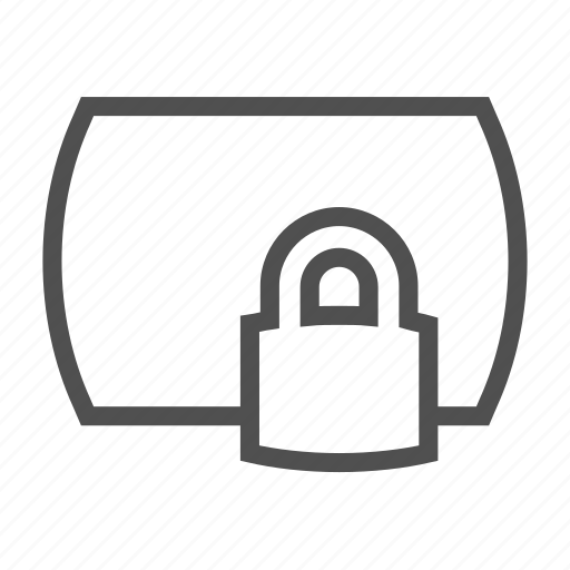 card, lock, protection, secure, security icon