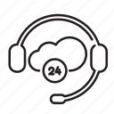 dialogue, headphones, headset, help, support icon