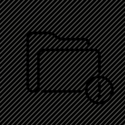 archive, case, document, folder, portfolio icon