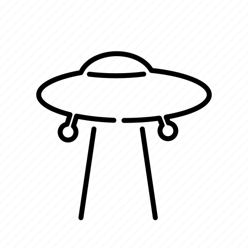 abducted, alien, science fiction, space, ufo icon