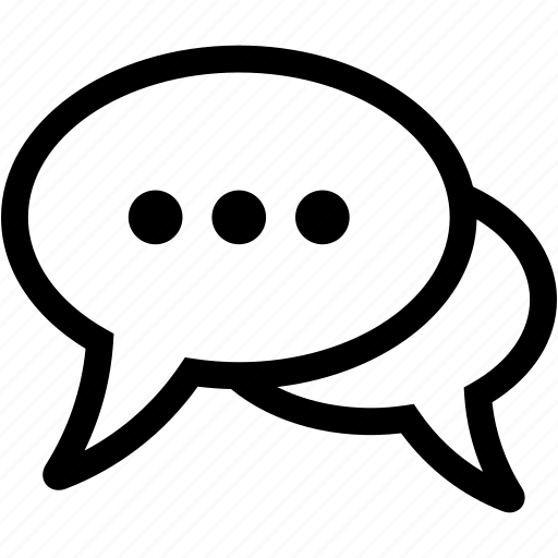 bubble, chat, chatting, comment, message, speech, talk icon