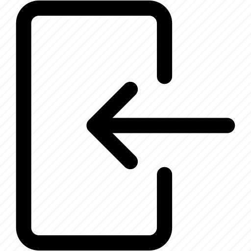 arrow, check, enter, in, login, sign icon