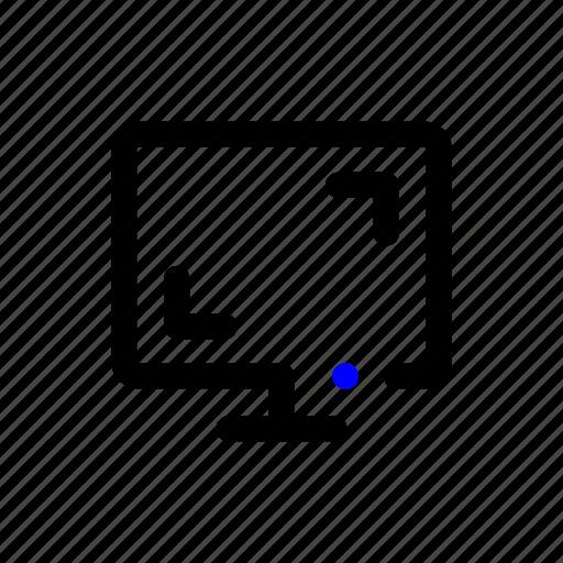 desktop, display, laptop, monitor, pc, screen icon