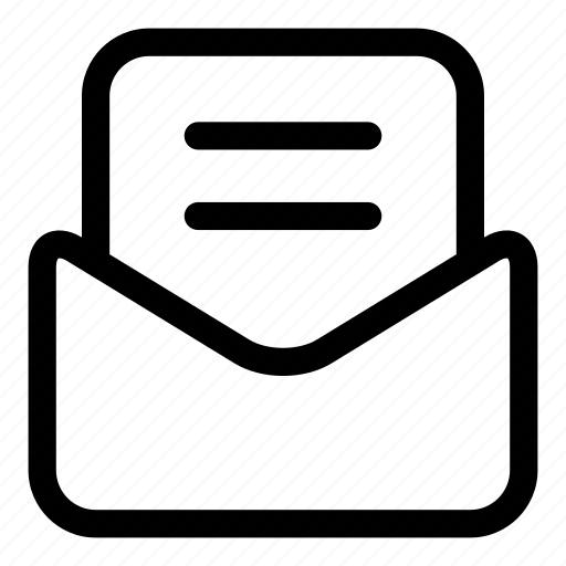 email, envelop, inbox, mail, message, notice, send icon