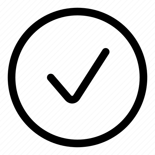 accept, approved, check, good, ok, tick icon