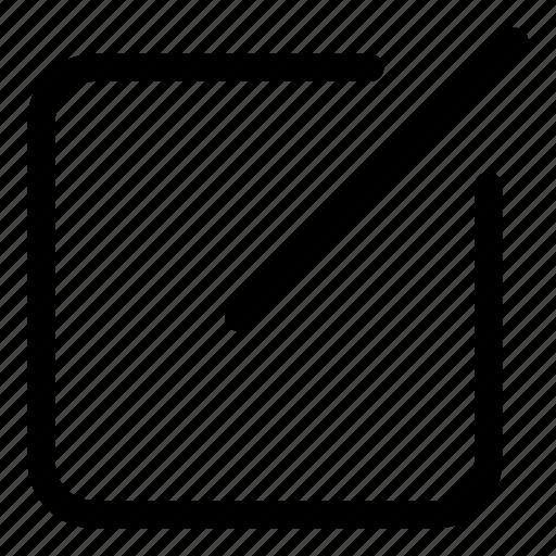 compose, design, edit, layout, write icon