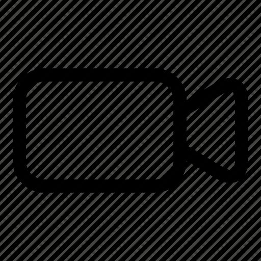 camera, film, movie, video icon