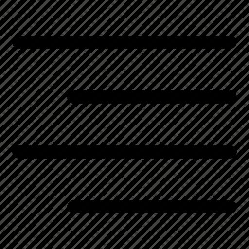 align, alignment, right, right align, text icon