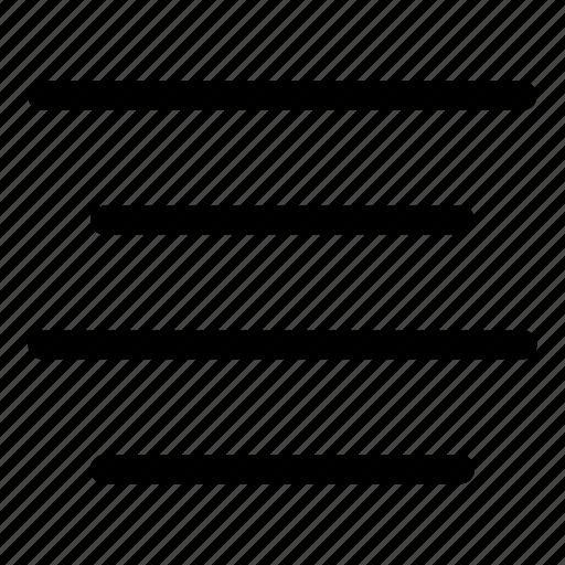 alignment, center, center align, text icon