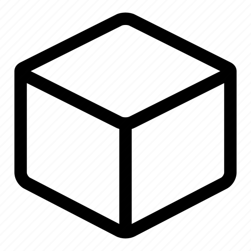 box, cube, pack, package, product, shape icon