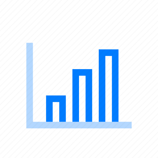 analysis, chart, data, flow icon