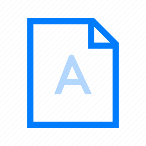 file, font, format, text icon