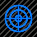 focus, precision, target icon