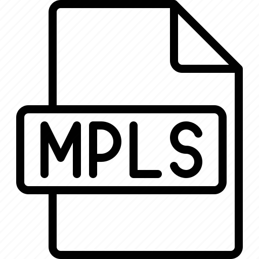 document, extension, file, format, mpls icon