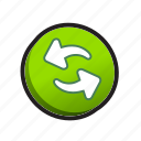 buttons, refresh, renew icon